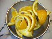 清見オレンジ皮