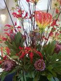 宝塚ホテルの生け花