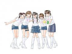【図】LAST Aice5 DVD感想イラスト・アンコール衣装・色塗り