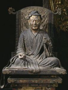 維摩居士坐像