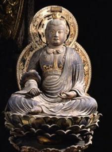 文殊菩薩坐像