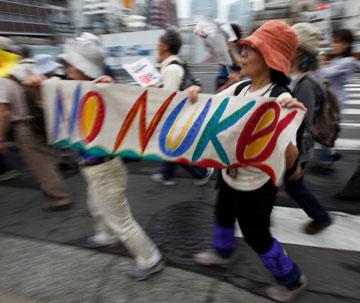 6.11反原発のデモに行く