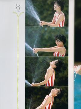 酒井法子写真集画像