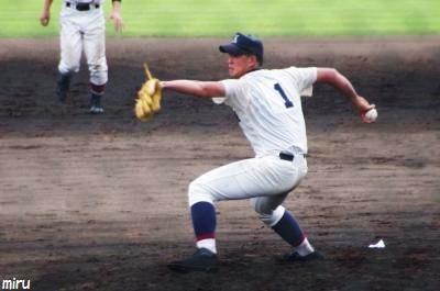 市立柏・森投手