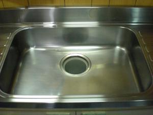 水回り ハウスクリーニング 奈良県 シンク 作業後