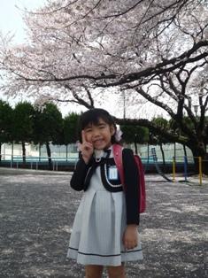 次女入学式