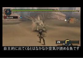 【MHP2G】ブーメランハンター日記【釣り○チ編】