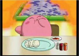 カービィの食事シーンが可愛すぎる件
