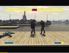 グランド・セフト・オート4でストリートファイターⅡの対戦を再現!