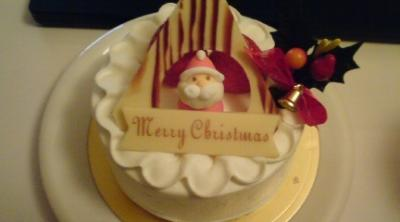 Decoration cake at Christmas1-by1