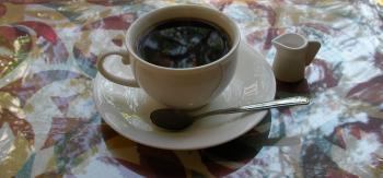 港やコーヒー
