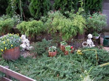 シャレー庭4