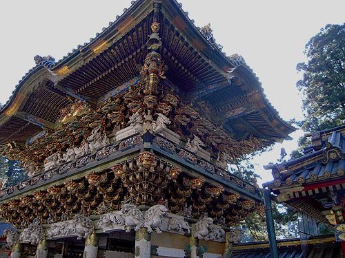 陽明門の装飾②