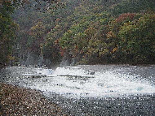 吹割の滝・紅葉⑤