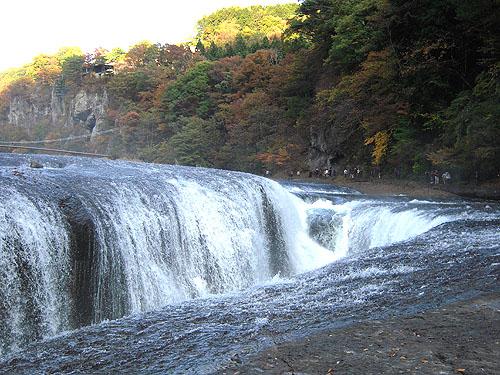 吹割の滝・紅葉③