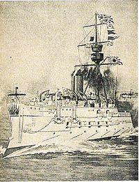 連合艦隊旗艦松島