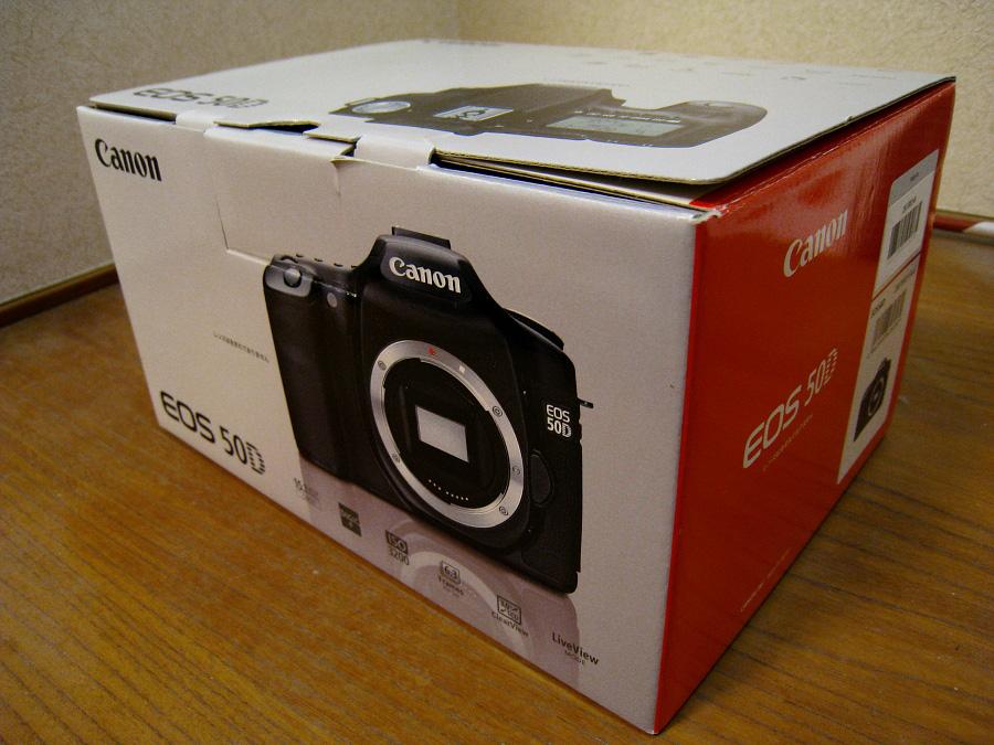 本日からの新しい相棒・EOS 50D(by IXY DIGITAL 910IS)