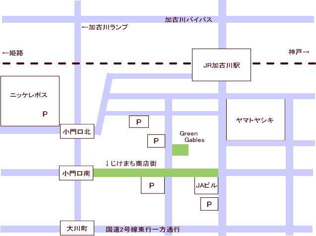 マルシェ地図