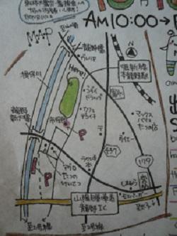 のびマ地図
