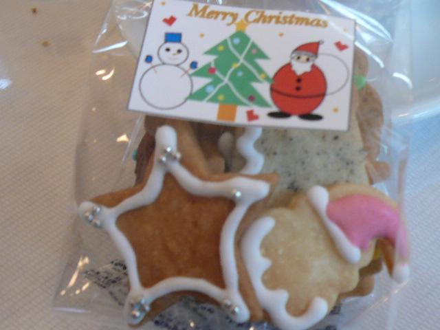 パティスリーMOMOさんのクリスマスクッキー