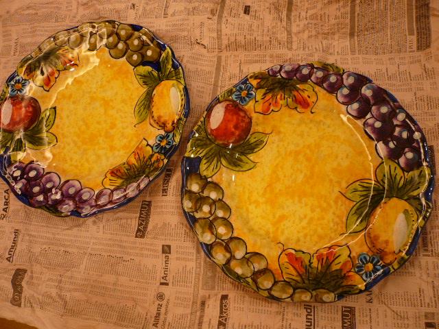 Positaniで買ったお皿