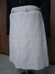 ドレスキップラメツイードスカート