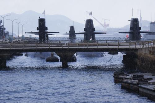アレイからすこじま潜水艦基地