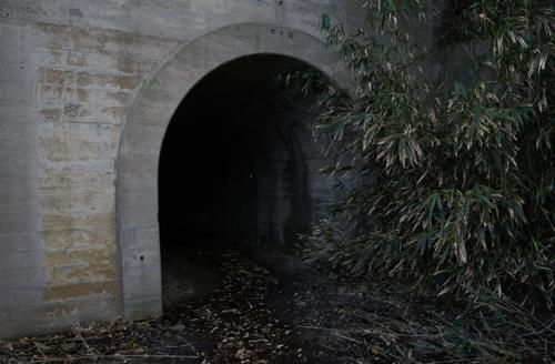 トロッコ用トンネル1