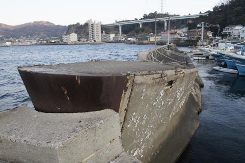 コンクリートの曳航船