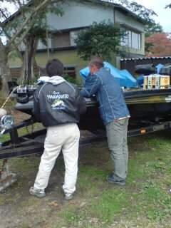 20091011 オフセットペダル取り付け会議