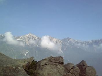 三山、見えてます。