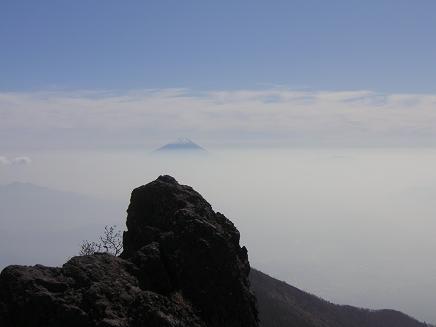 権現からの富士山