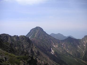 ドーン!と、横岳からの赤岳。