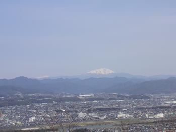 御嶽山も見える