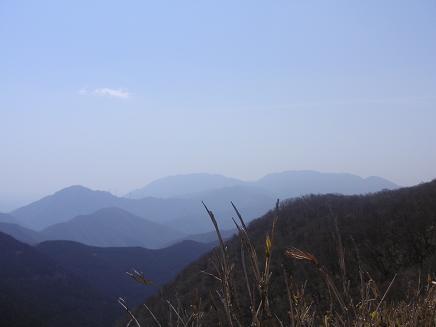 御池・藤原岳方面