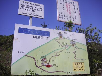 メチャ簡単な山地図