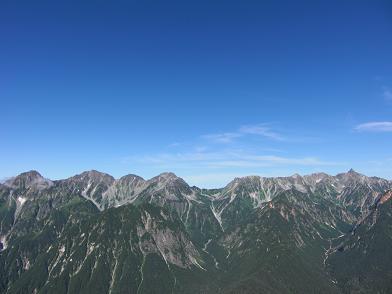 夢の・・稜線