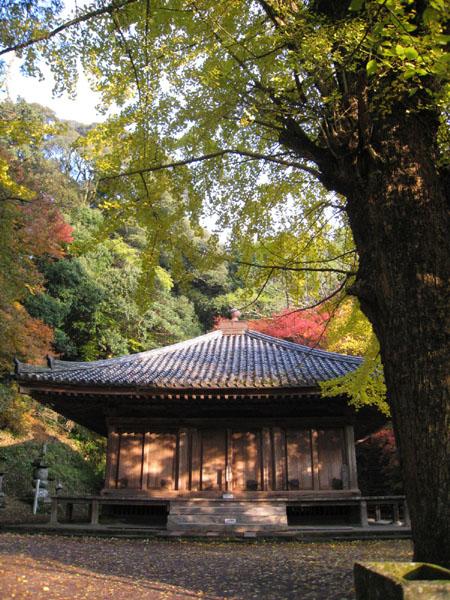富貴寺全景 タテ