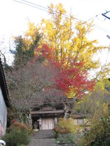 富貴寺入り口