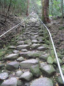 最後の石段