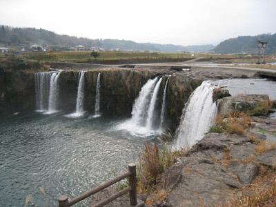 原尻の滝風景1