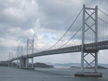 瀬戸大橋全景