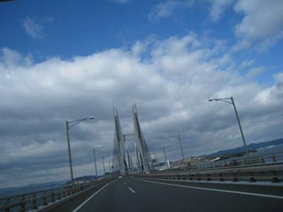 与島橋から