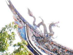 孔子廟の龍