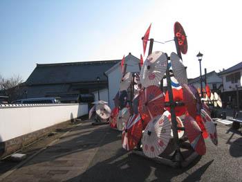 八千代座と和傘