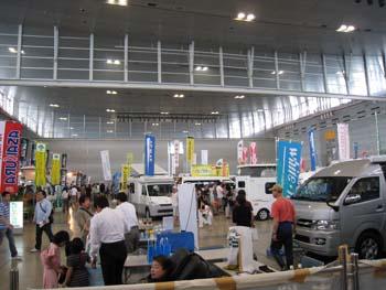 キャンピングカーショー2009 1