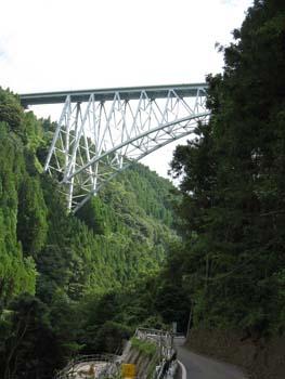 青雲橋 下から