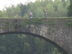 通潤橋と人間