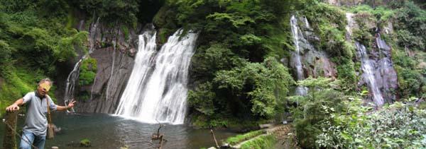 白水の滝パノラマ