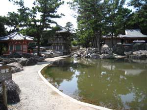 金剛福寺の池1